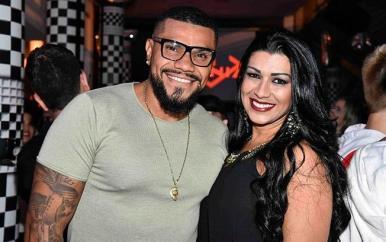 Após agressão, Naldo Benny e Ellen Cardoso reatam casamento
