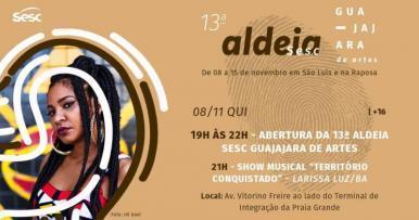 13ª Aldeia Sesc Guajajara de Artes estimula o poder feminino na cultura do MA