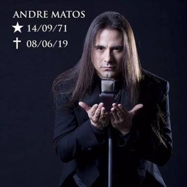 Andre Matos, vocalista do Angra e Shaman, morre aos 47 anos