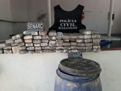 Polícia Civil apreende mais 70 kg de droga em sítio em Timon
