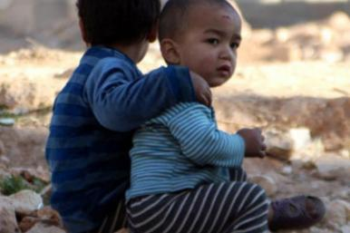 Dos 13 milhões de sírios que precisam de ajuda, 40% são crianças