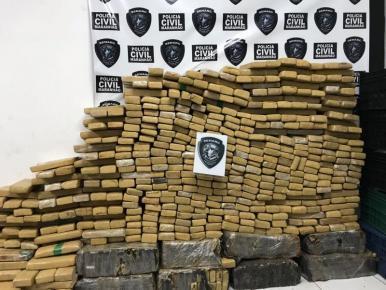 Apreensão de drogas em 2017 já causou prejuízo de mais de R$ 17 milhões ao tráfico de drogas