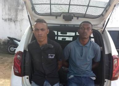 Dois homens são detidos suspeitos de assalto em São Luís