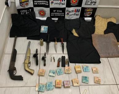 PM prende 11 pessoas suspeitas de integrar grupo criminoso no MA