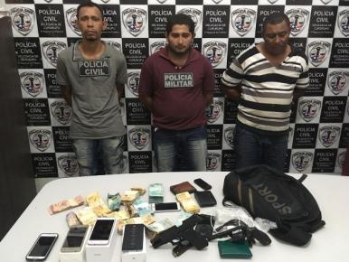 Operação prende suspeitos de assaltar agência dos Correios em Cururupu