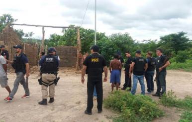 Operação prende assaltantes e receptadores em reserva indígena no Maranhão