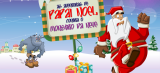 Grupo Cidade sai na frente e lança os primeiros jogos eletrônicos do mercado; Papai Noel enfrenta o monstro da neve