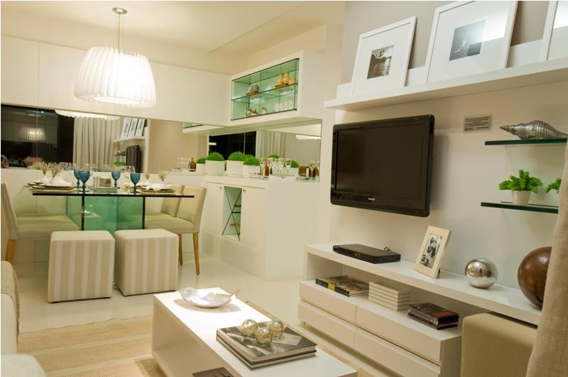 Confira dicas para decorar ambientes pequenos sem gastar for Departamentos decorados