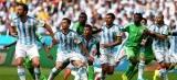 Argentina vence Suíça faltando três minutos para o fim da prorrogação