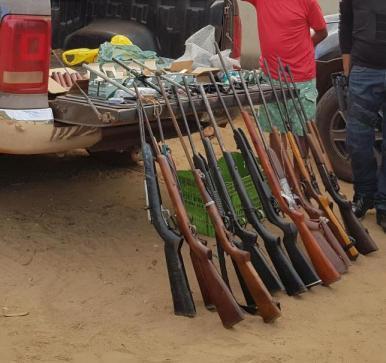 Operação desarticula grupo que comercializava armas no MA e TO