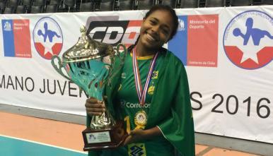 Atleta maranhense é convocada para Seleção Brasileira Junior de Handebol