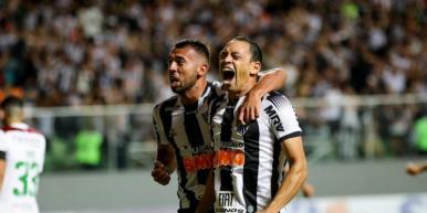 Atlético-MG derrota o Fluminense e permanece firme no G-4 da Série A