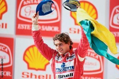 Ayrton Senna: piloto brasileiro de Fórmula 1 vai ganhar filme