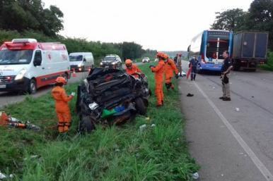 Acidente de trânsito deixa cinco mortos em Bacabeira