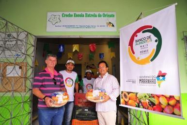 Banco de Alimentos arrecada mais de 40 toneladas de alimentos no 1º mês