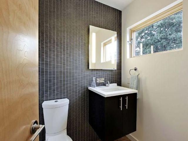 Aprenda como decorar um banheiro pequeno  SuaCidadecom -> Como Deixar Um Banheiro Pequeno Bonito