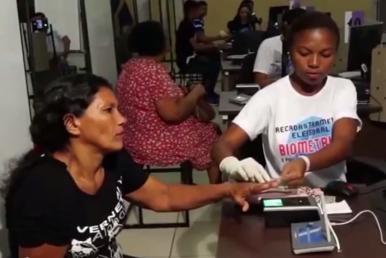 Recadastramento biométrico de eleitores ultrapassa meta prevista em 54%