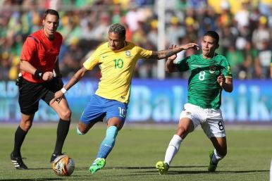 Eliminatórias da Copa: Brasil empata com a Bolívia, em La Paz