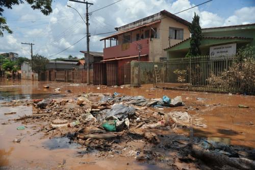 Enchentes em Minas Gerais
