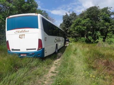 PRF troca tiros com assaltantes de ônibus em Pedrinhas