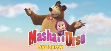 """Espetáculo """"Masha e o Urso"""" está chegando em São Luís"""