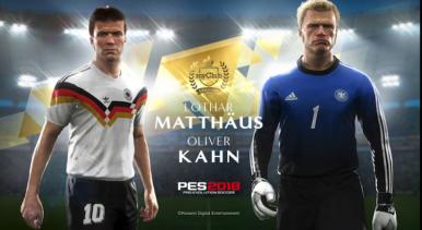 Oliver Kahn e Lothar Matthäus são as novas lendas de PES 2018