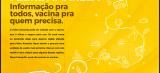 Saúde lança campanha com orientações sobre a vacinação contra a febre amarela