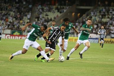 Série B: Ceará e Guarani empatam em 2 a 2 no Castelão