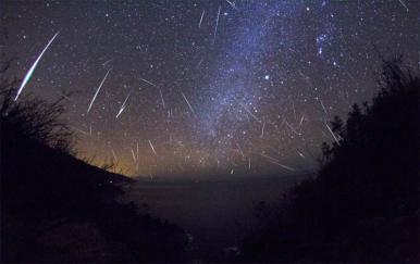 Chuva de meteoros pode ser vista a olho nu neste fim de semana