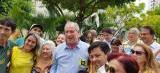 Candidato Ciro Gomes vota no Ceará