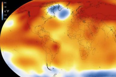 2017 deve ser um dos três anos mais quentes, com recorde em clima extremo