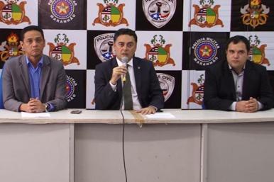 SSP apresenta suspeitos de tráfico de drogas nesta sexta (17)