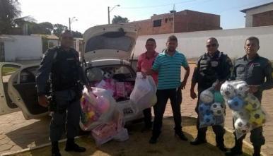 PMMA realiza doação de brinquedos em homenagem ao Dia das Crianças