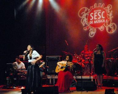 Shows musicais encerram 5ª edição da Mostra Sesc de Música