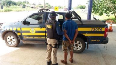 MA: homem é detido em ônibus na BR-010 com mandado de prisão em aberto