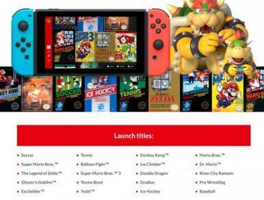 Assinatura do Nintendo Switch Online custará R$ 74
