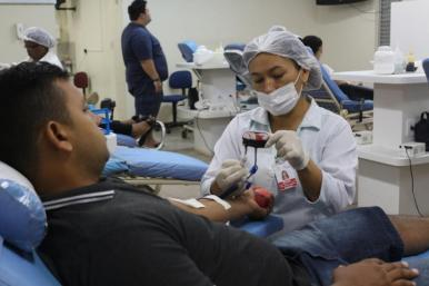 Campanha mobiliza doadores para ação externa de coleta de sangue
