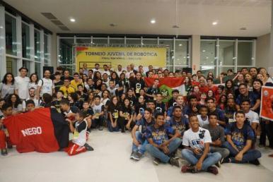 Final nacional do Torneio Juvenil de Robótica segue até este sábado (25) em SL
