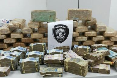 Mais de 100 kg de drogas foram apreendidas em janeiro deste ano no MA