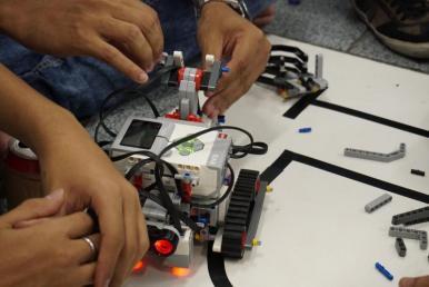 Alunos do Iema participam da segunda edição do Torneio Juvenil de Robótica