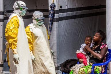 Ebola: tratamento com novas drogas aumentam possibilidades de sobrevivência