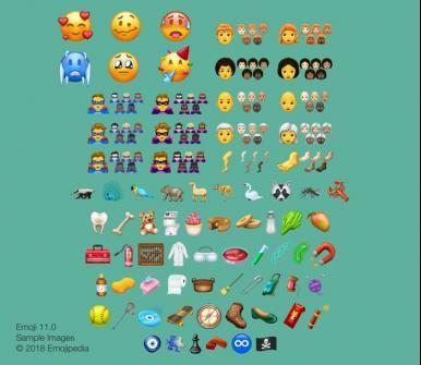 Mais de 150 novos emojis estão confirmados para o 2º semestre de 2018