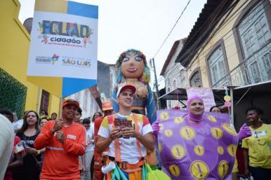 Folião Cidadão: campanha incentiva cuidado com cidade e folia com segurança