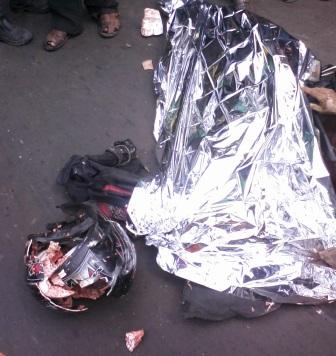 Motociclista é esmagado em acidente na Estrada de Ribamar
