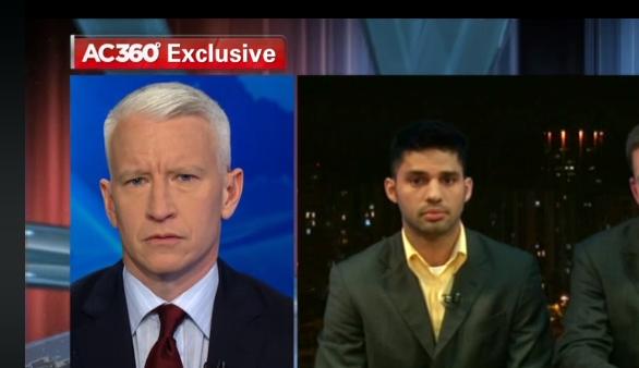 Cooper entrevista David Miranda, parceiro de Greenwald