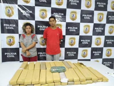 2ª fase da Operação Tiro Certo apreende 52 tabletes de drogas no MA