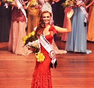Vencedora do Miss Maranhão 2015 (Imagens: Instagram oficial do concurso)